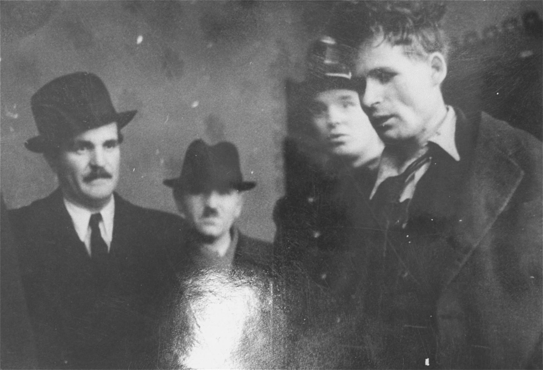 Hungarian police arrest Jewish resister, Robert Mandel, in Budapest.