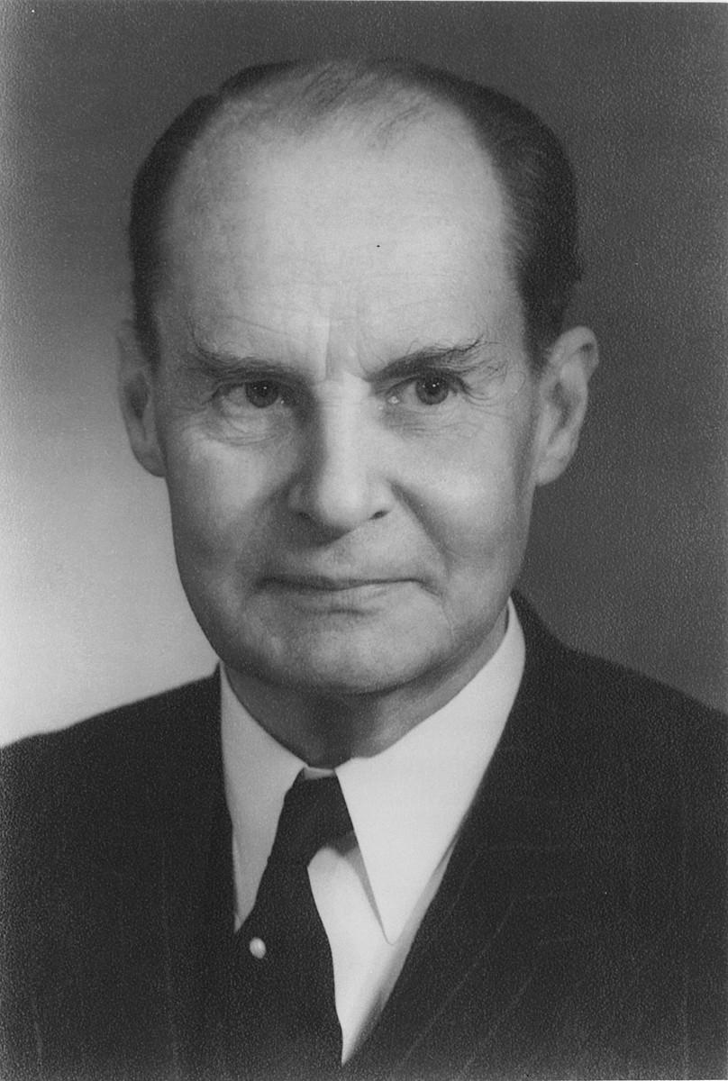 Portrait of Gerhart Feine.