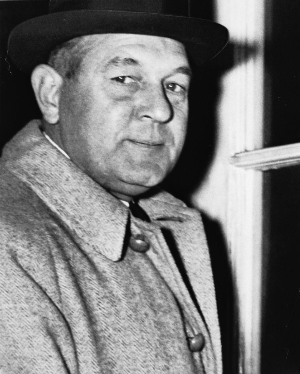 Portrait of Dr. Raymond Herman Geist.