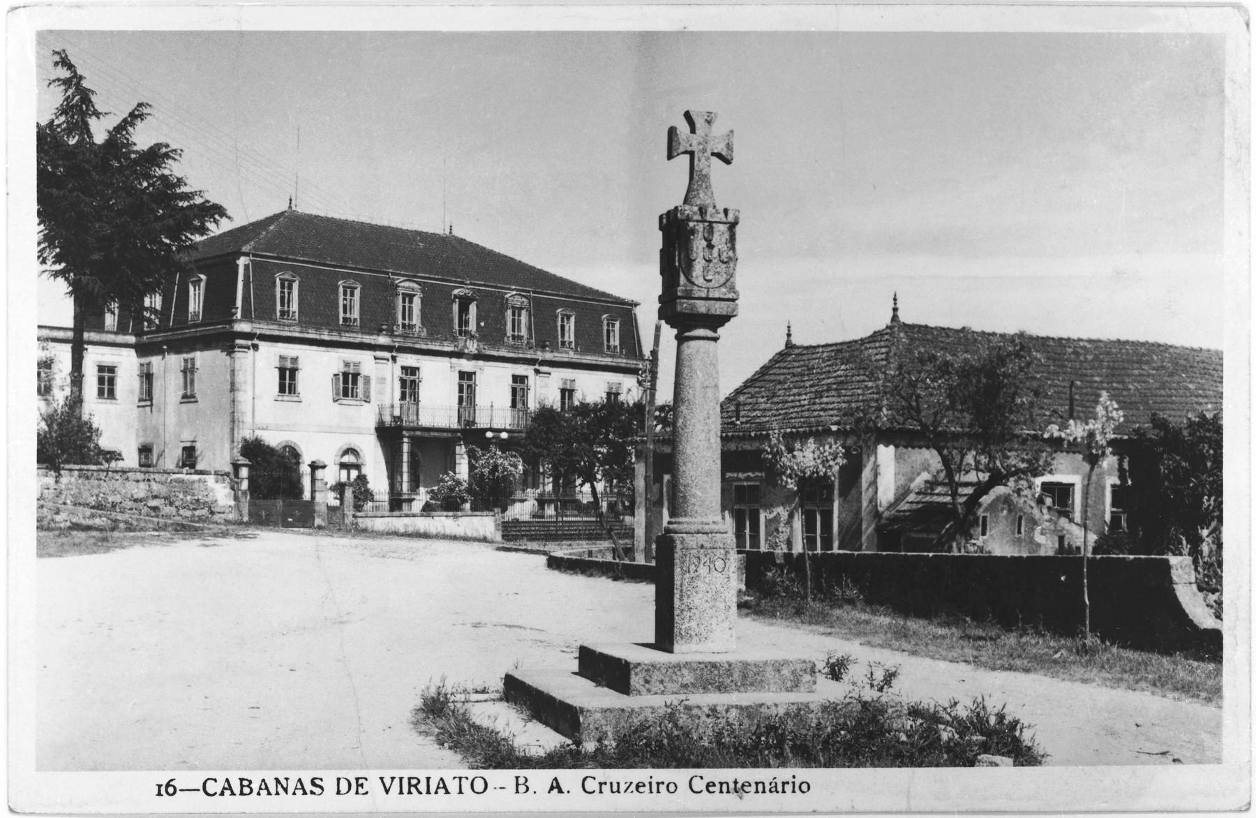 View of the estate of Aristides de Sousa Mendes in the Portuguese village of Cabanas de Viriato.