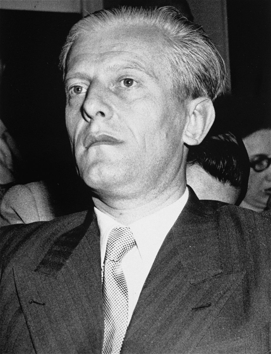 Portrait of Otto Abetz.