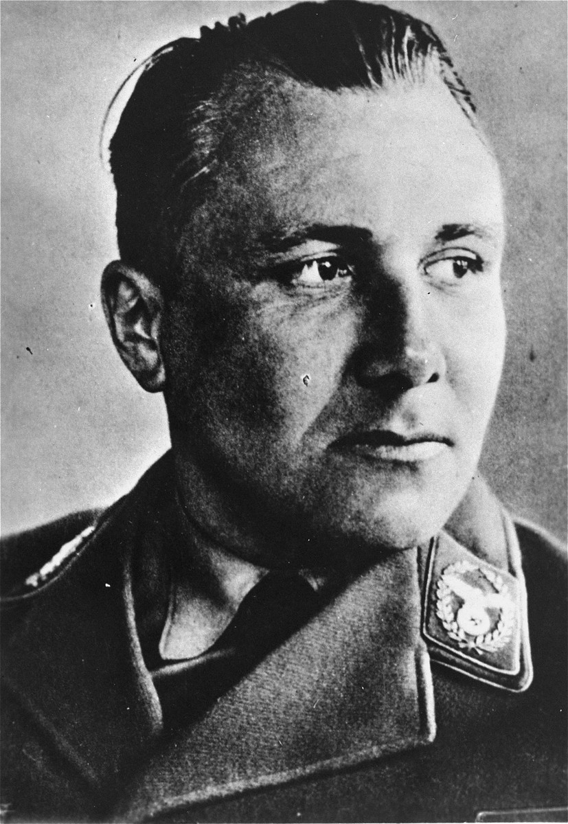 Portrait of Martin Bormann.
