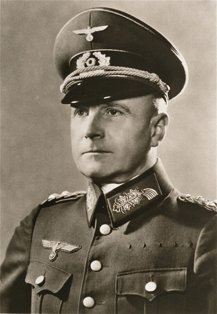 Field Marshal Walther von Brauchitsch (1881-1948), commander in chief of the German Army.
