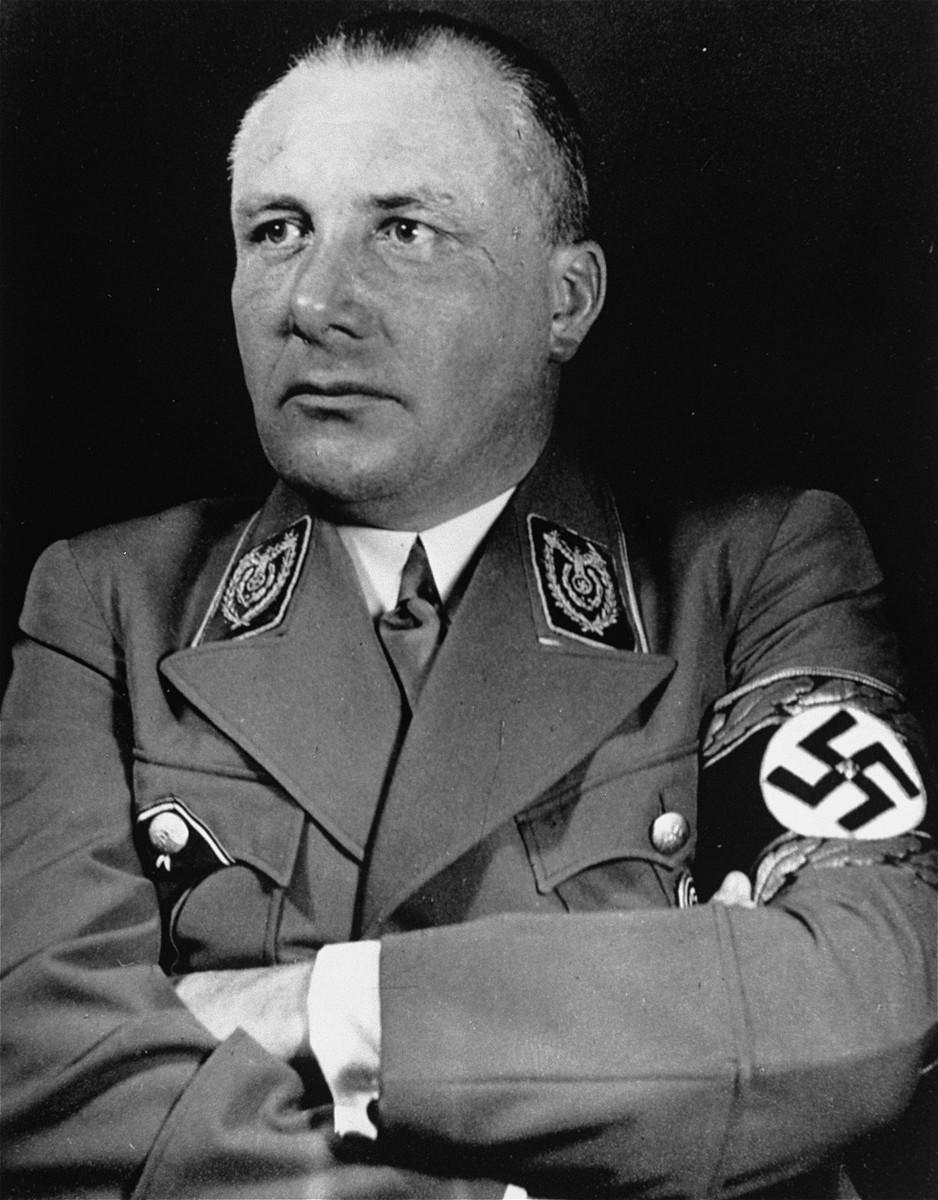 Portrait of Martin Bormann.