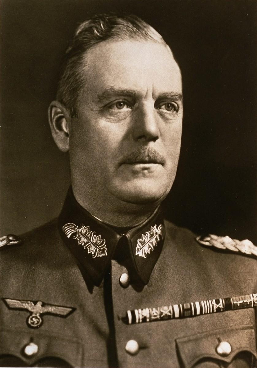 Portrait of Wilhelm Keitel.