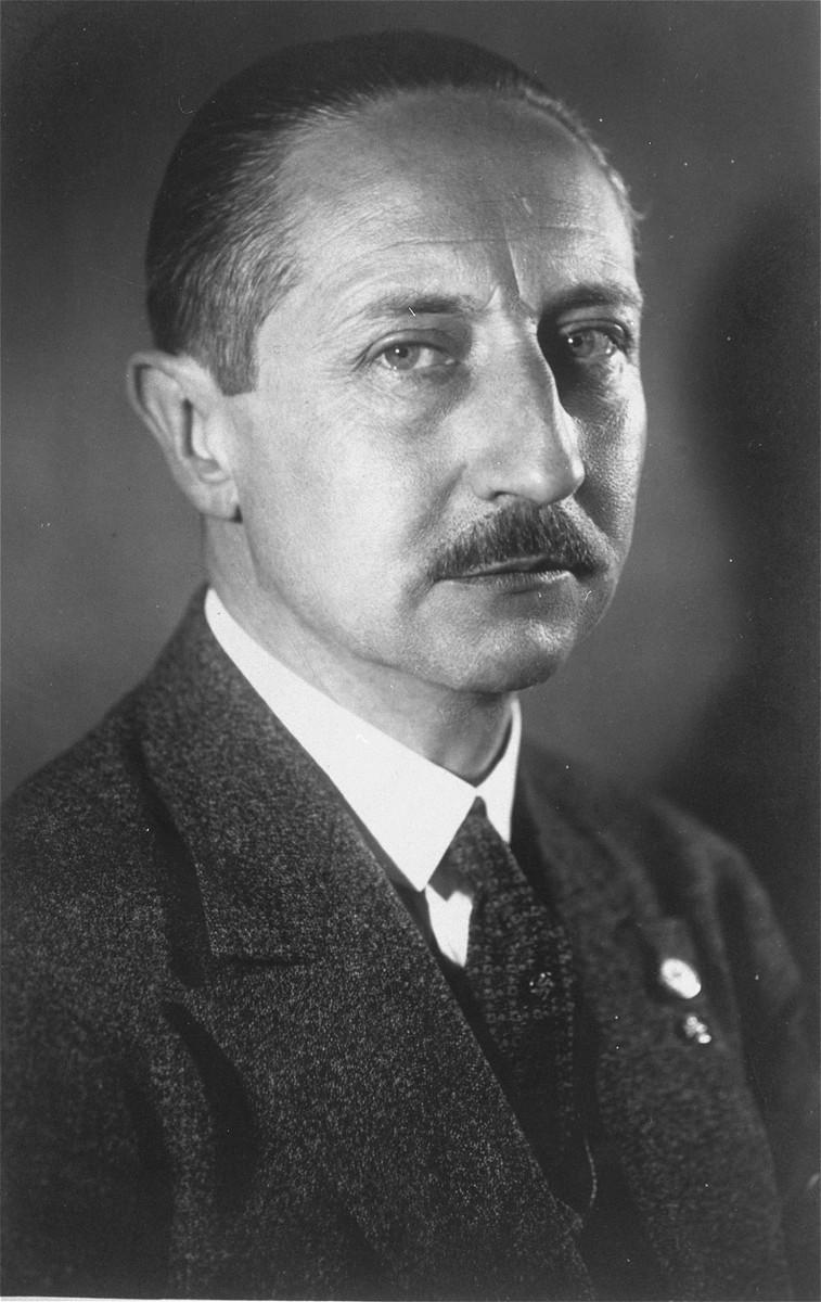 Portrait of Prince August Wilhelm.