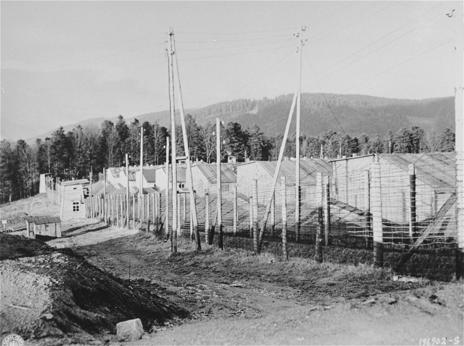 The Natzweiler-Struthof concentration camp.