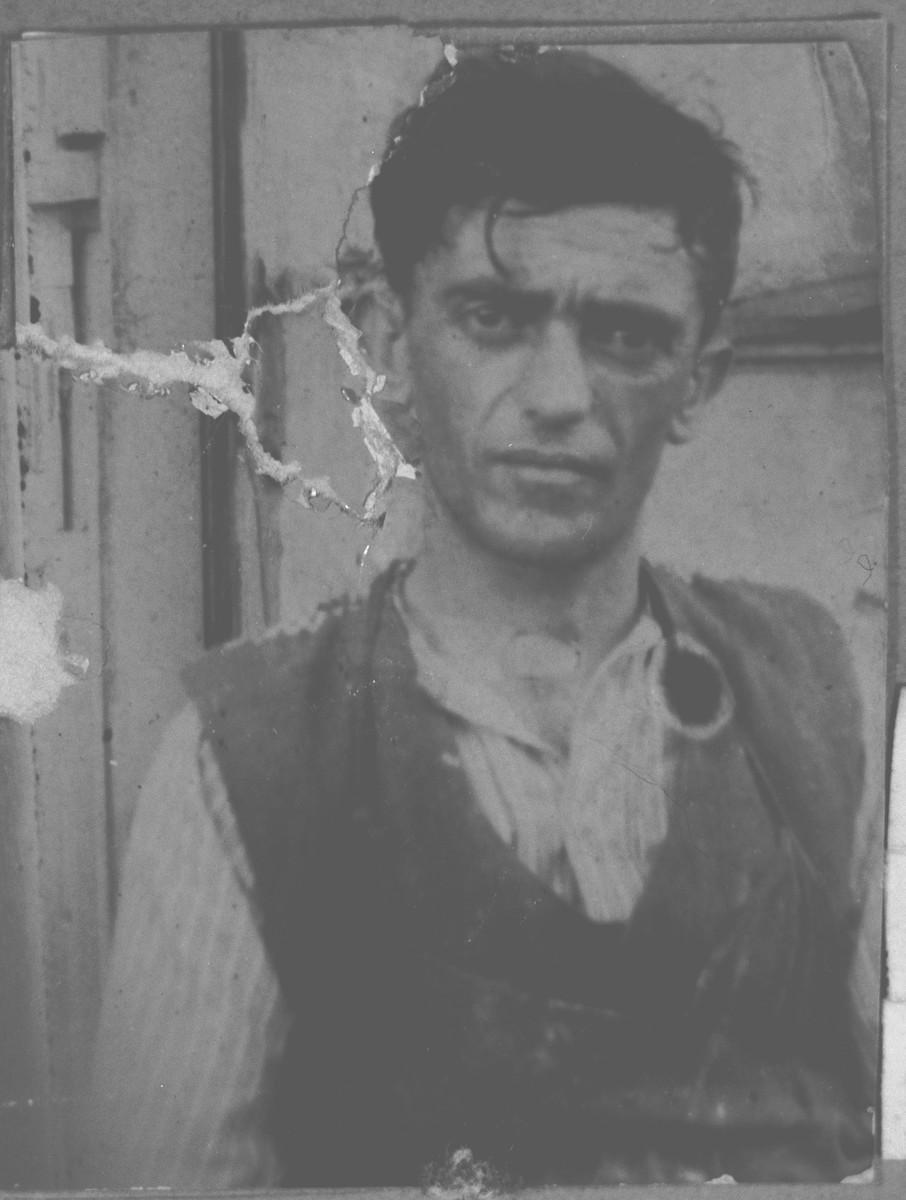 Portrait of Mordochai (L.) Ischach.