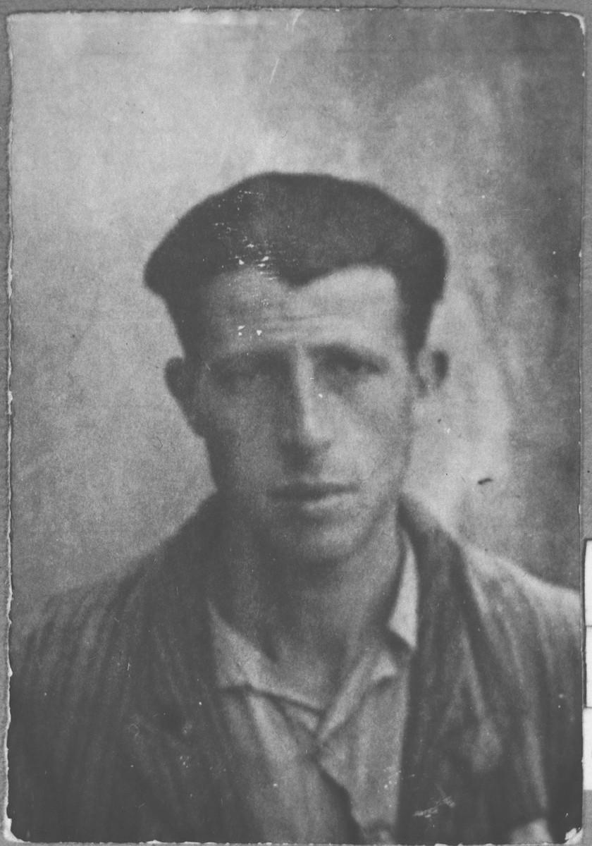 Portrait of Mois Ischach, son of Avram Ischach.