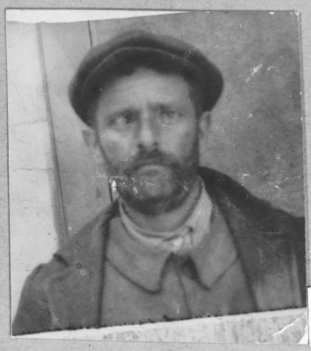 Portrait of Aron Albocher.  He lived at Karagoryeva 34 in Bitola.