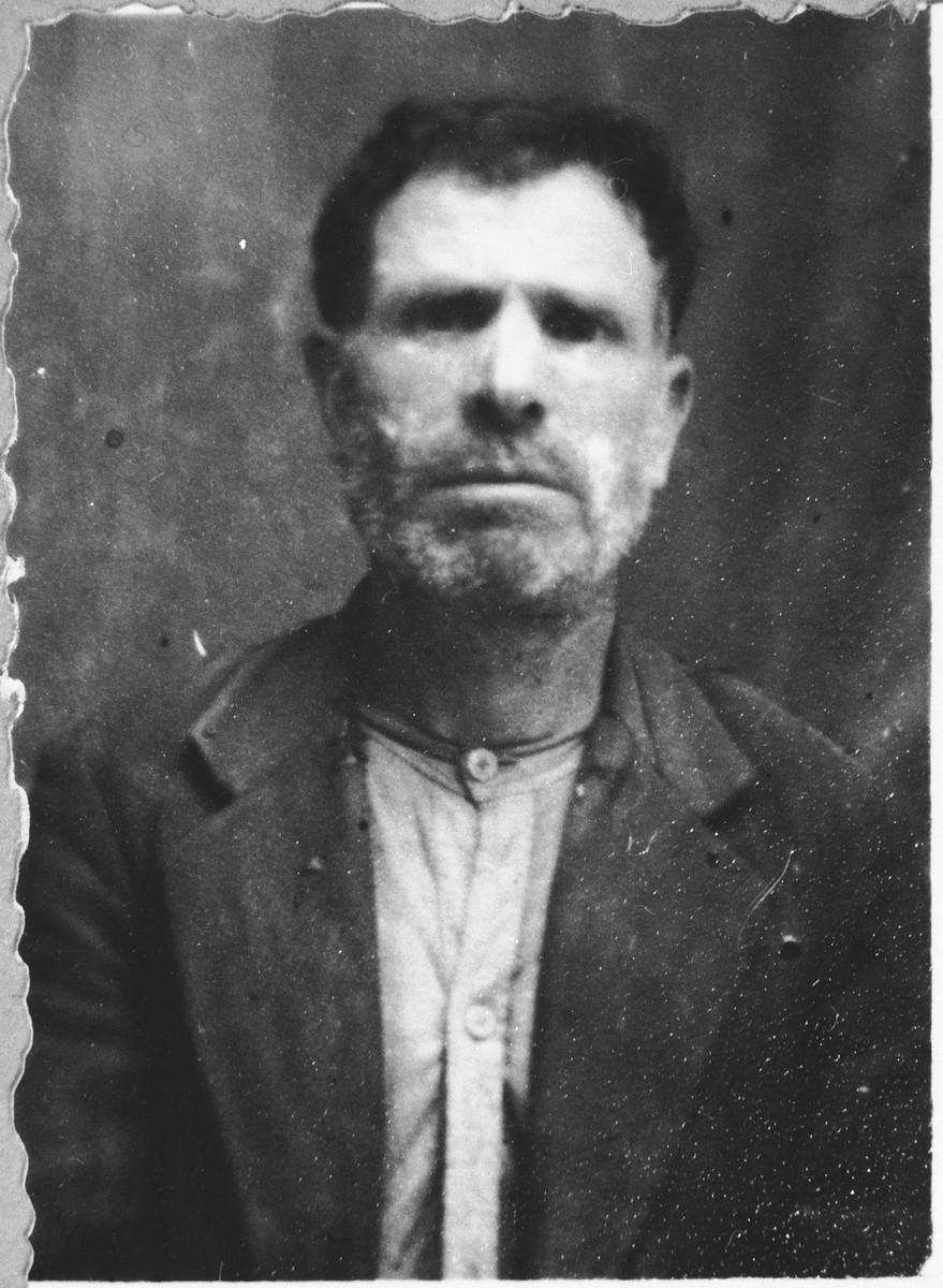Portrait of Yosef Albala.
