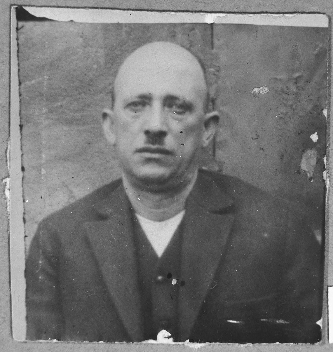 Portrait of Yakov Albala.