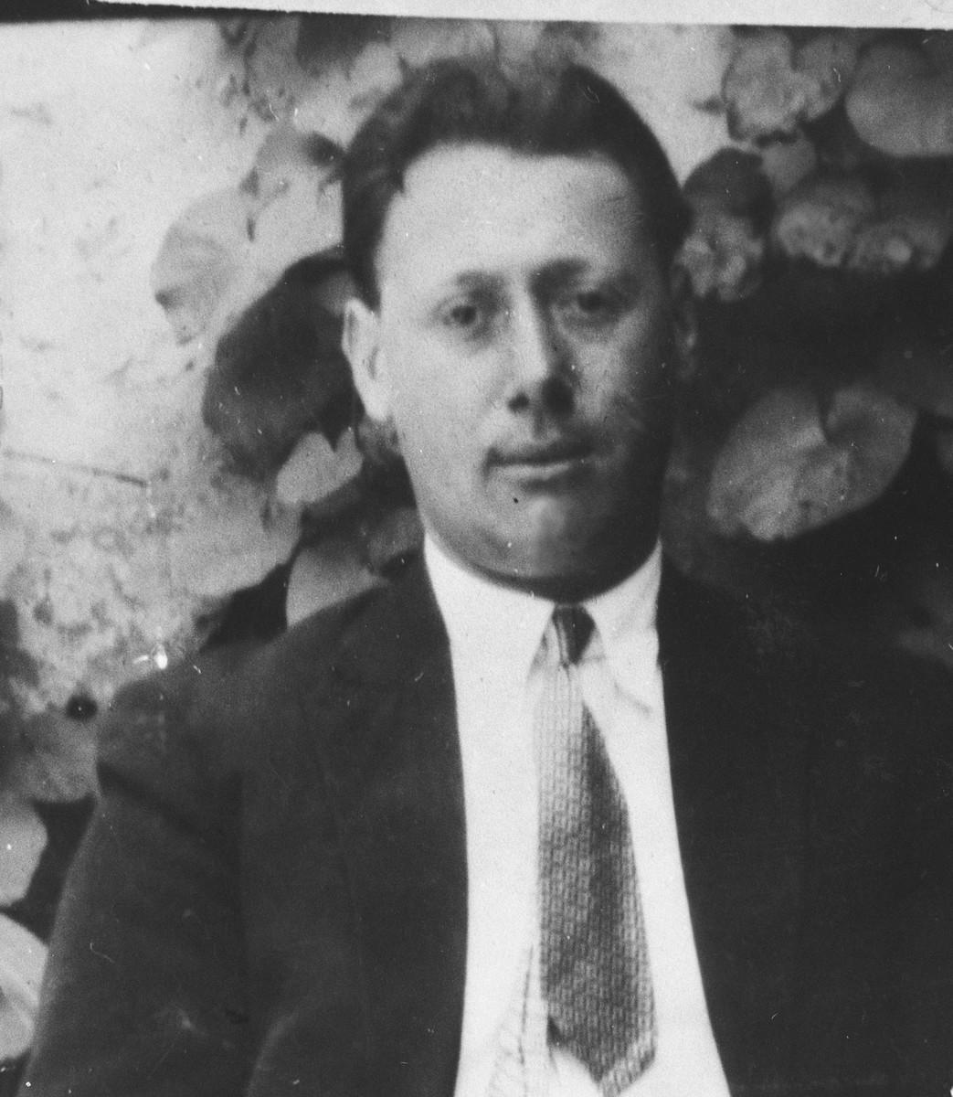 Portrait of Aron Aroesti, son of Yakov Aroesti.