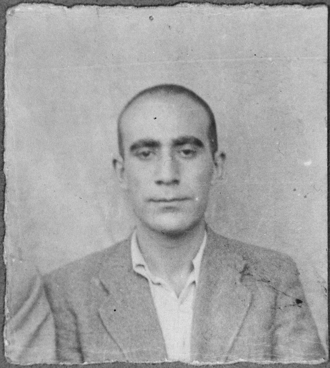 Portrait of Aron Aroesti, son of Avram Aroesti.