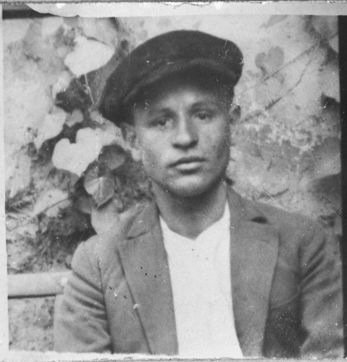 Portrait of Samuel Alba, son of Yakov Alba.