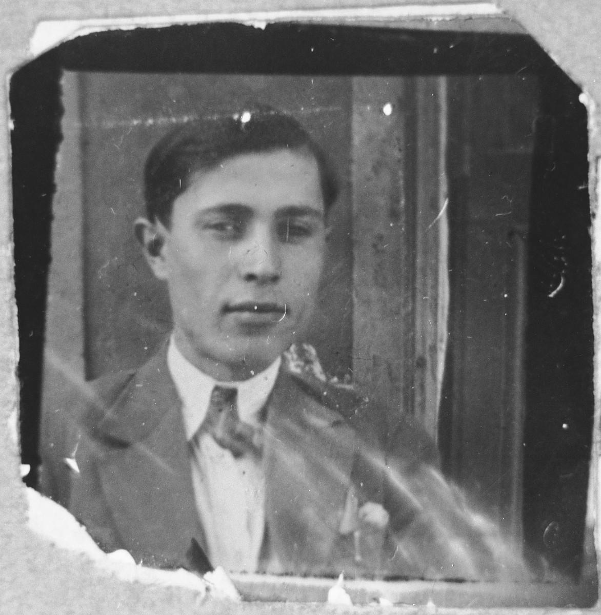 Portrait of Avram Hasson, son of Isak Hasson.