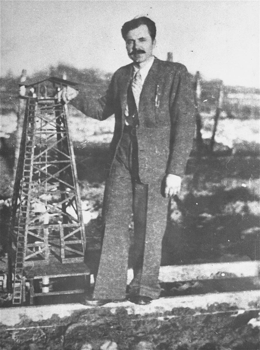 Nicolae Moraru, a Romanian prisoner in the Gurs transit camp.