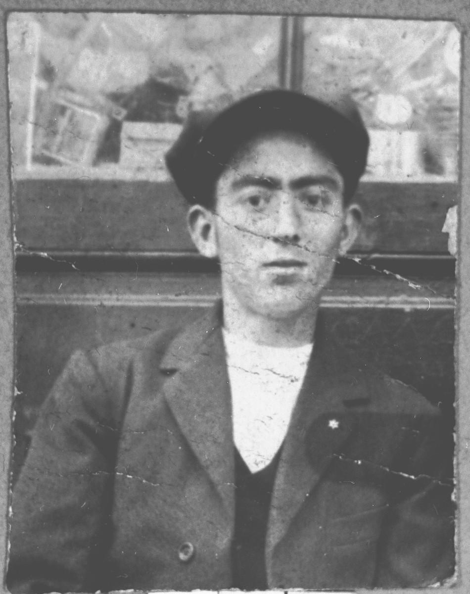 Portrait of Muau Kamchi.  He lived at Karagoryeva 93 in Bitola.