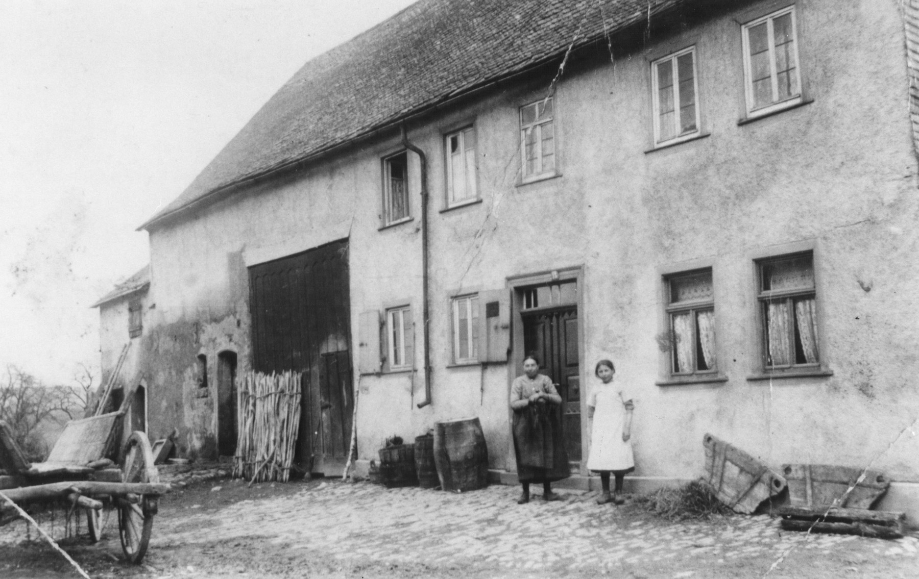 The Gerson Family farm on Roemerstrasse 39 in Perscheid, a small town near Oberwesel.