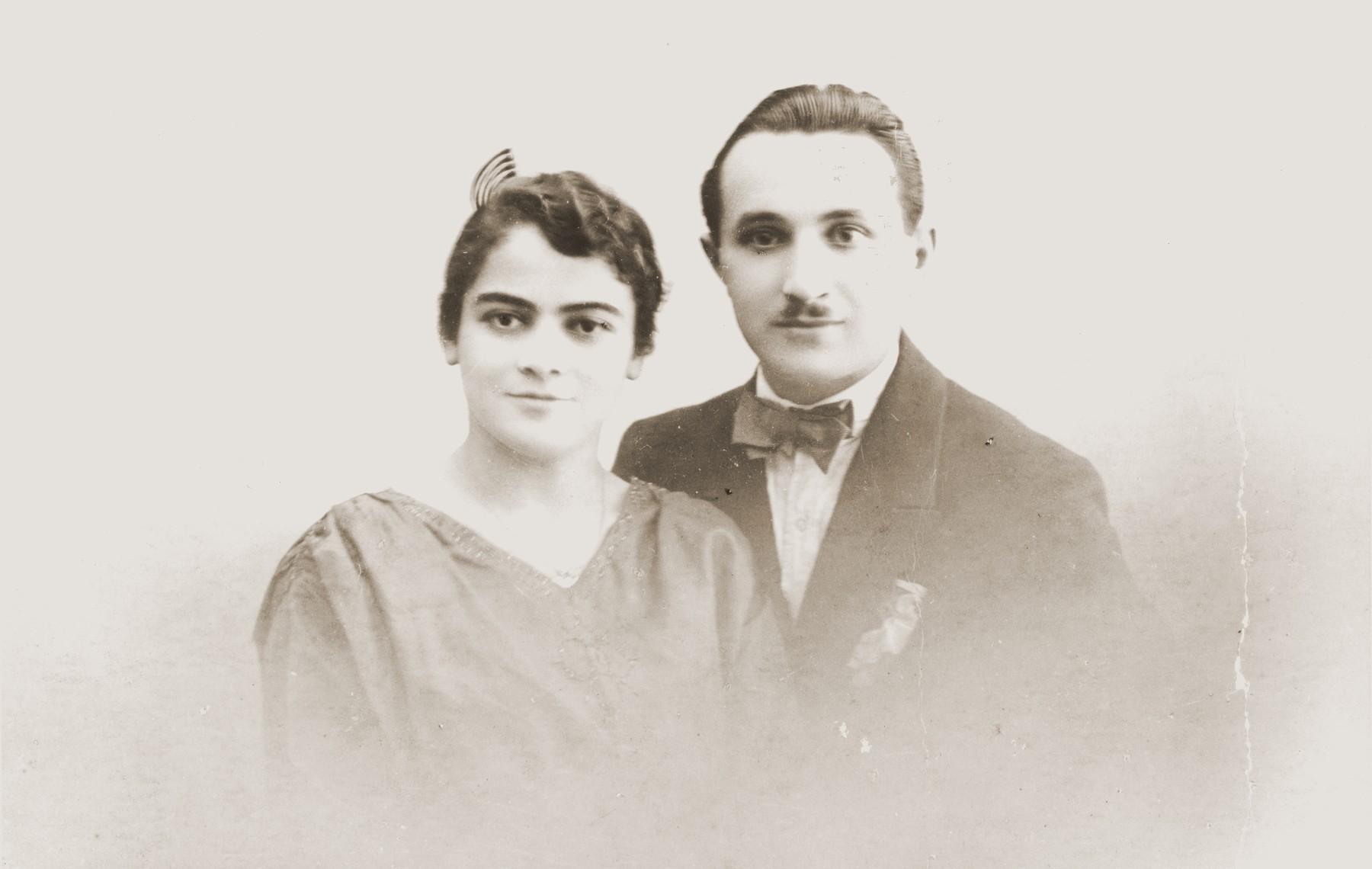 Pola Danishevska and Benny Fil.