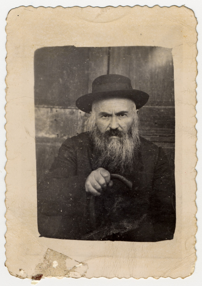 Portrait of Kalman Ehrenreich, grandfather of the donor.
