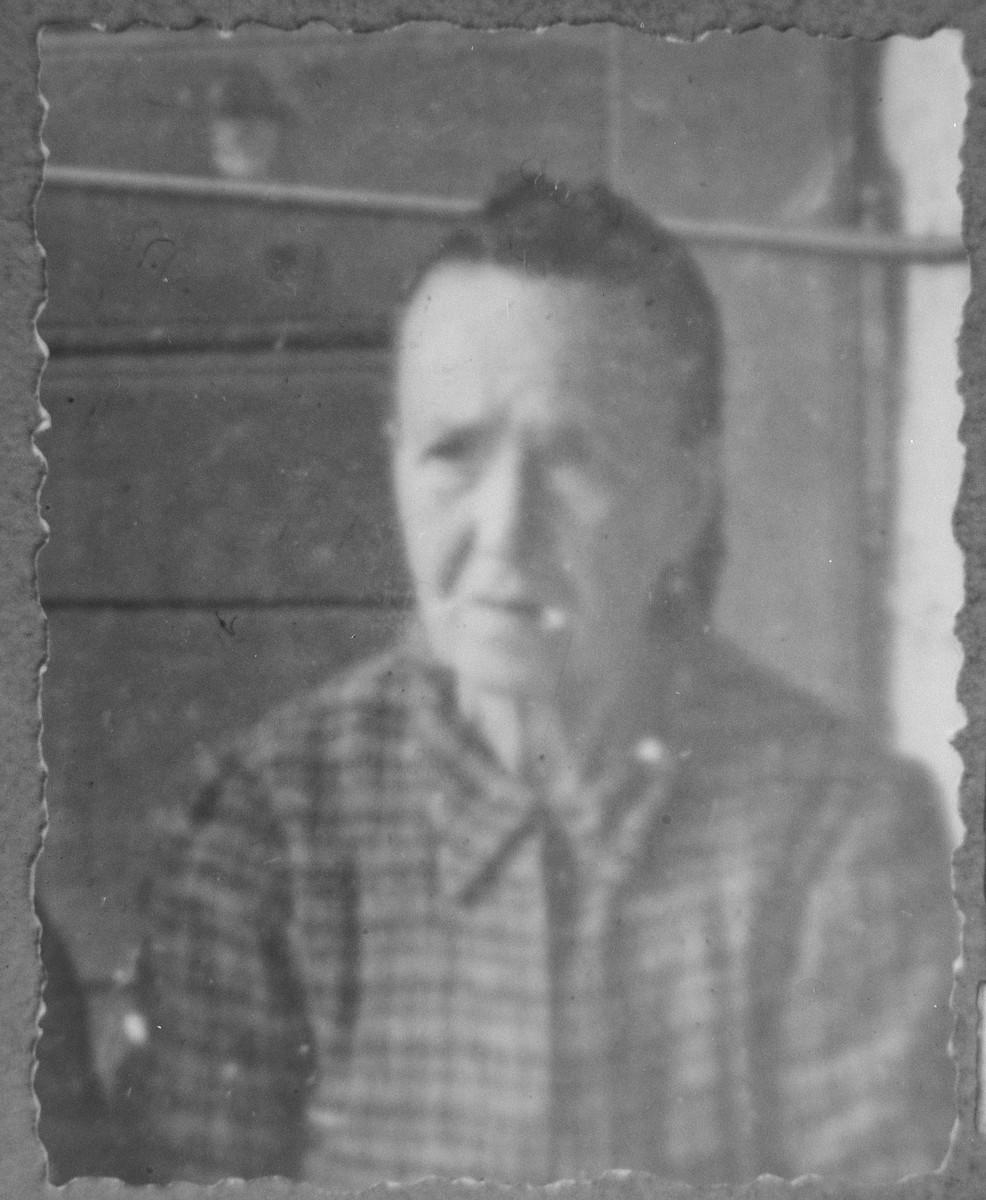 Portrait of Sol Nachmias, wife of Yakov Nachmias.  She lived at Karagoryeva 54 in Bitola.