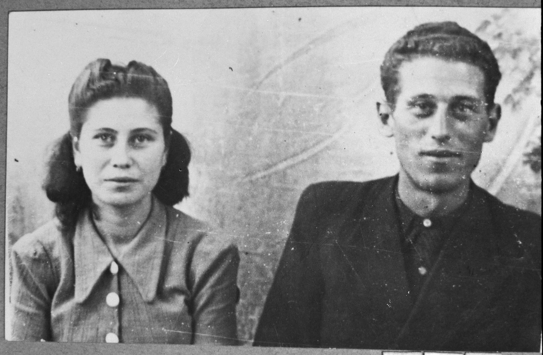 Portrait of Alberto Pardo, son of Santo Pardo and Matika Pardo, Santo's daughter.  They were students.  They lived at Karagoryeva 63 in Bitola.