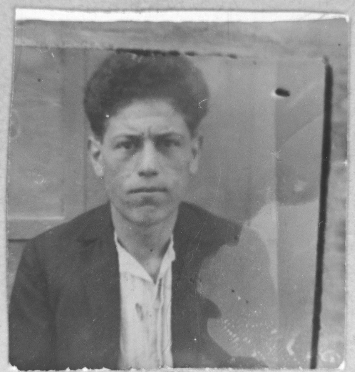 Portrait of Isak Pardo.  He lived on Karagoryeva in Bitola.