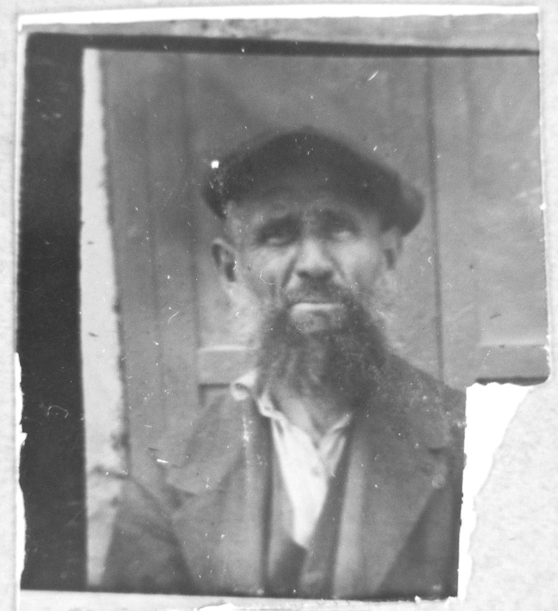 Portrait of Santo Pardo.