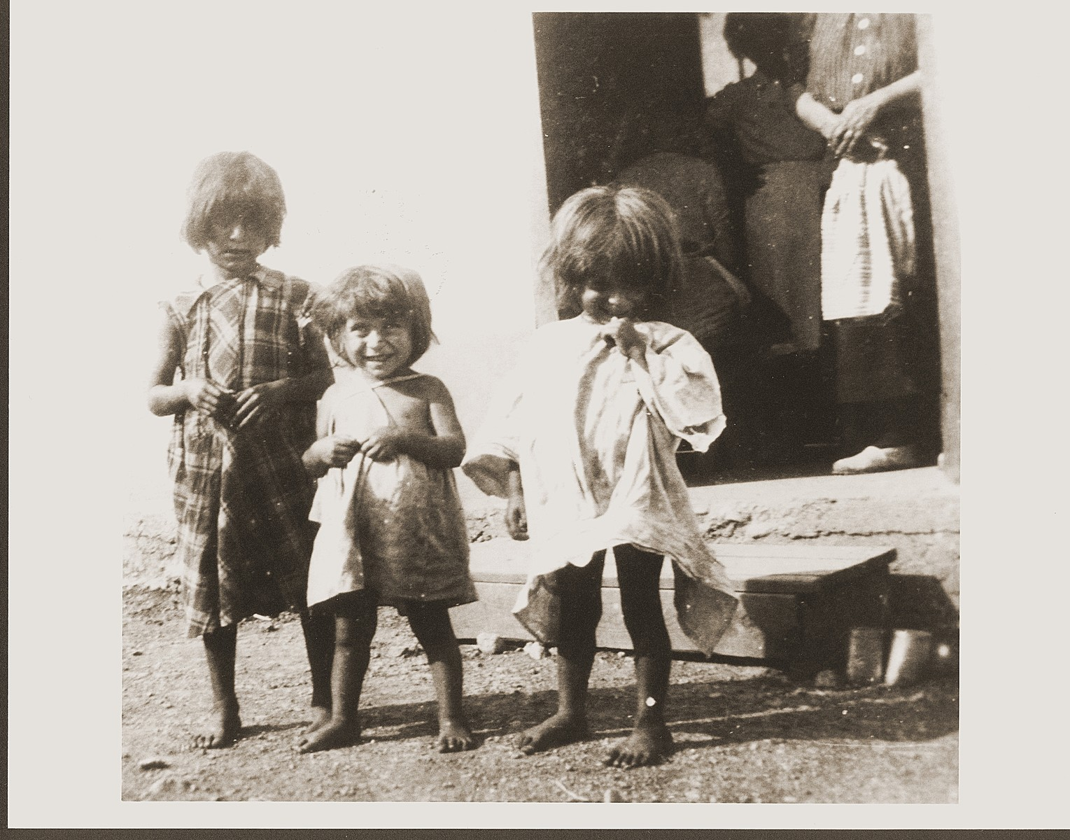 Romani (Gypsy) children in Rivesaltes.
