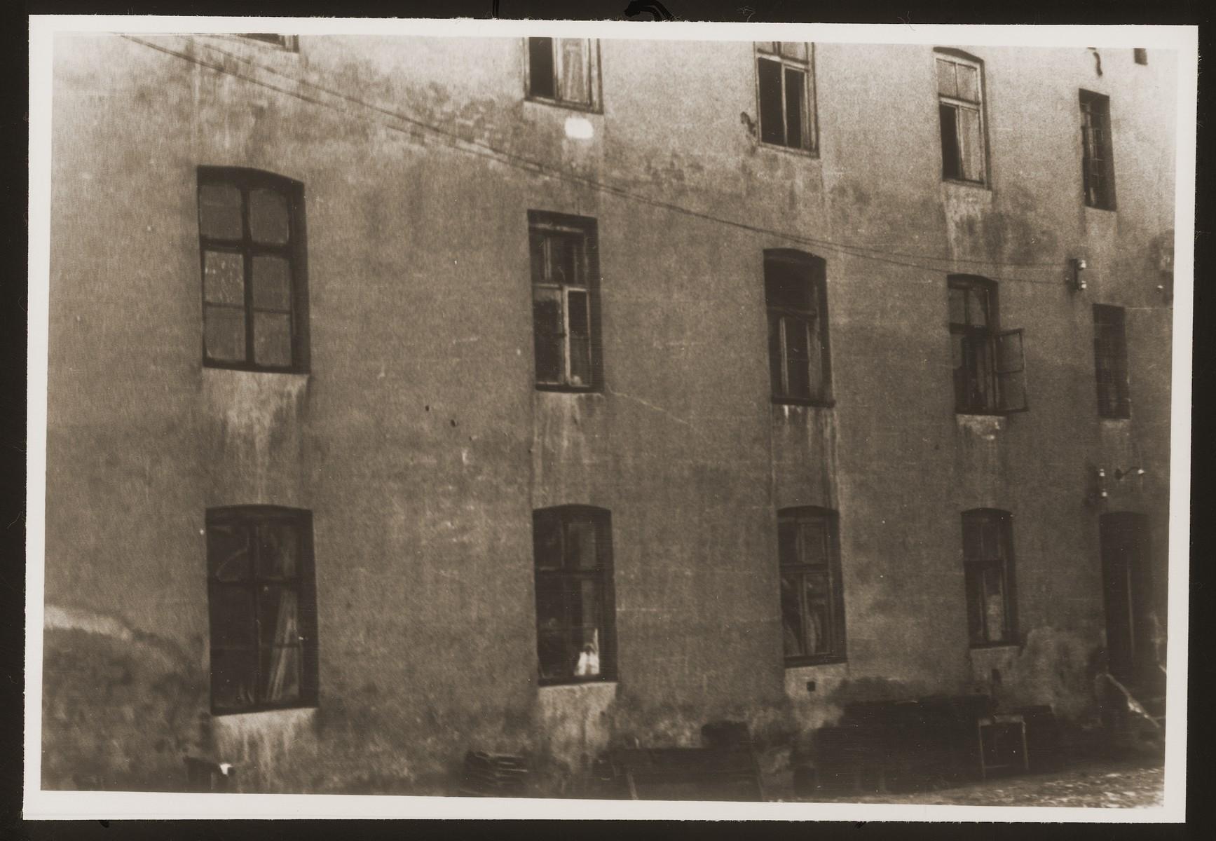 Views of the Bedzin ghetto.