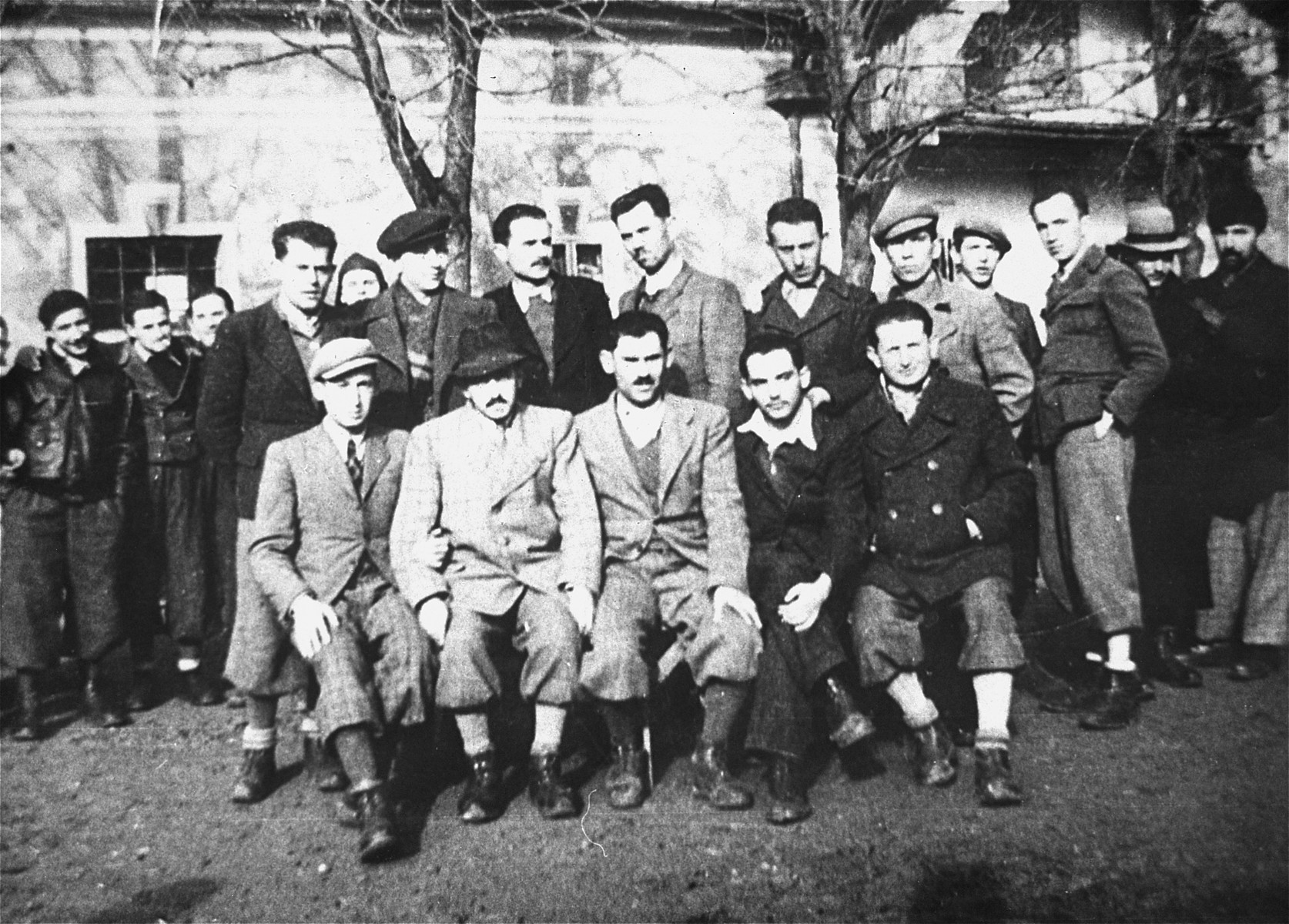 Romanians from Cehu Silvaniei (Jud. Salaj) interned in the Gorony camp in Hungary.