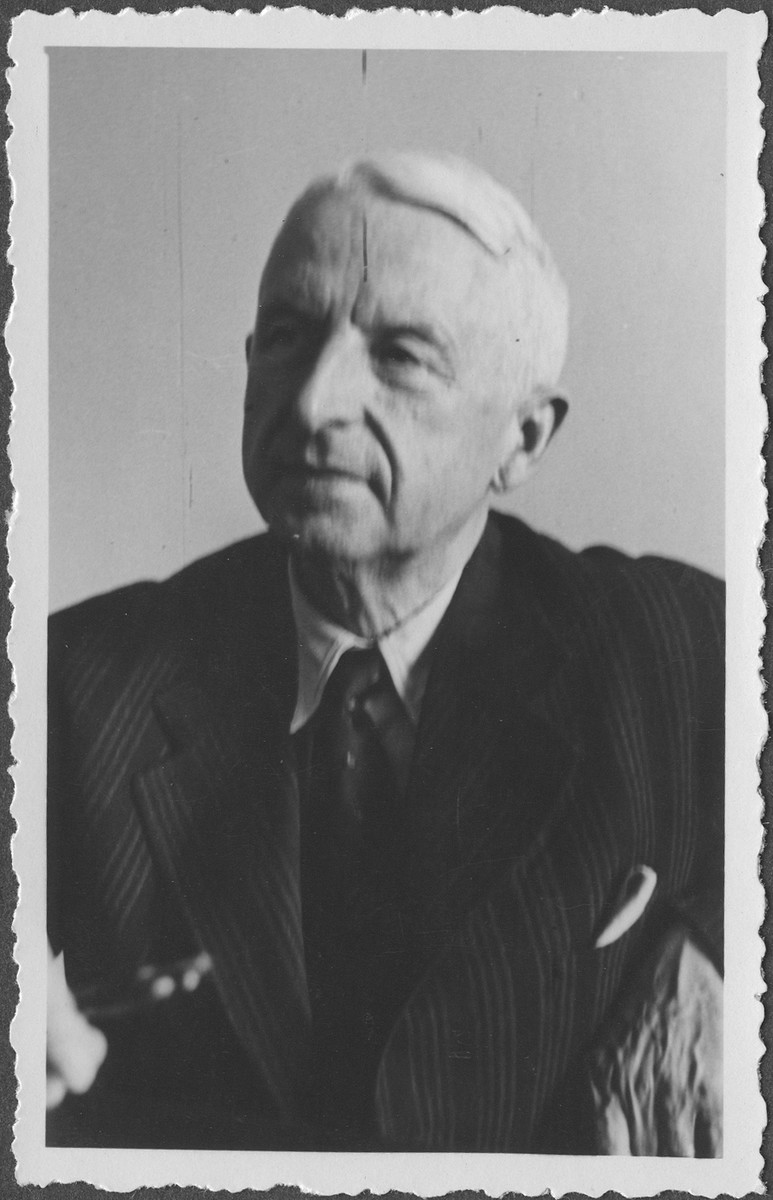 Portrait of German Field Marshall Erich von Manstein at the IMT Nuremberg commission hearings investigating the Supreme Command of the German Armed Forces, OKW.