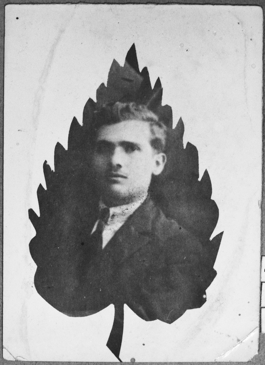 Portrait of Nissim Kassorla, son of Yakov Kassorla.  He lived on Karagoryeva in Bitola.