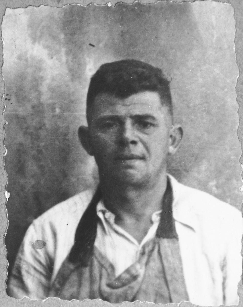 Portrait of Samuel Kamchi, son of Sava Kamchi.