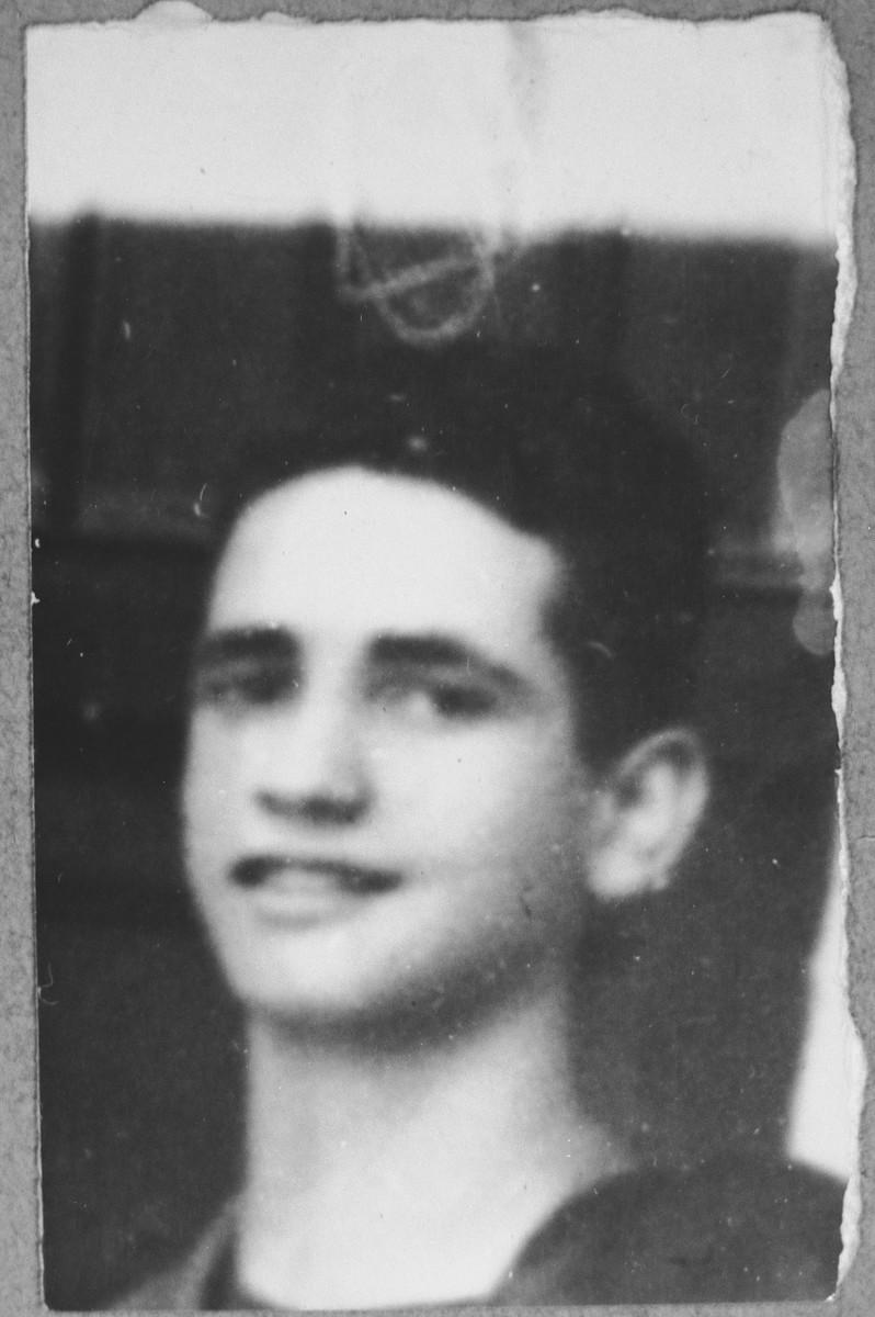 Portrait of Avram Levi, son of Haim Levi.