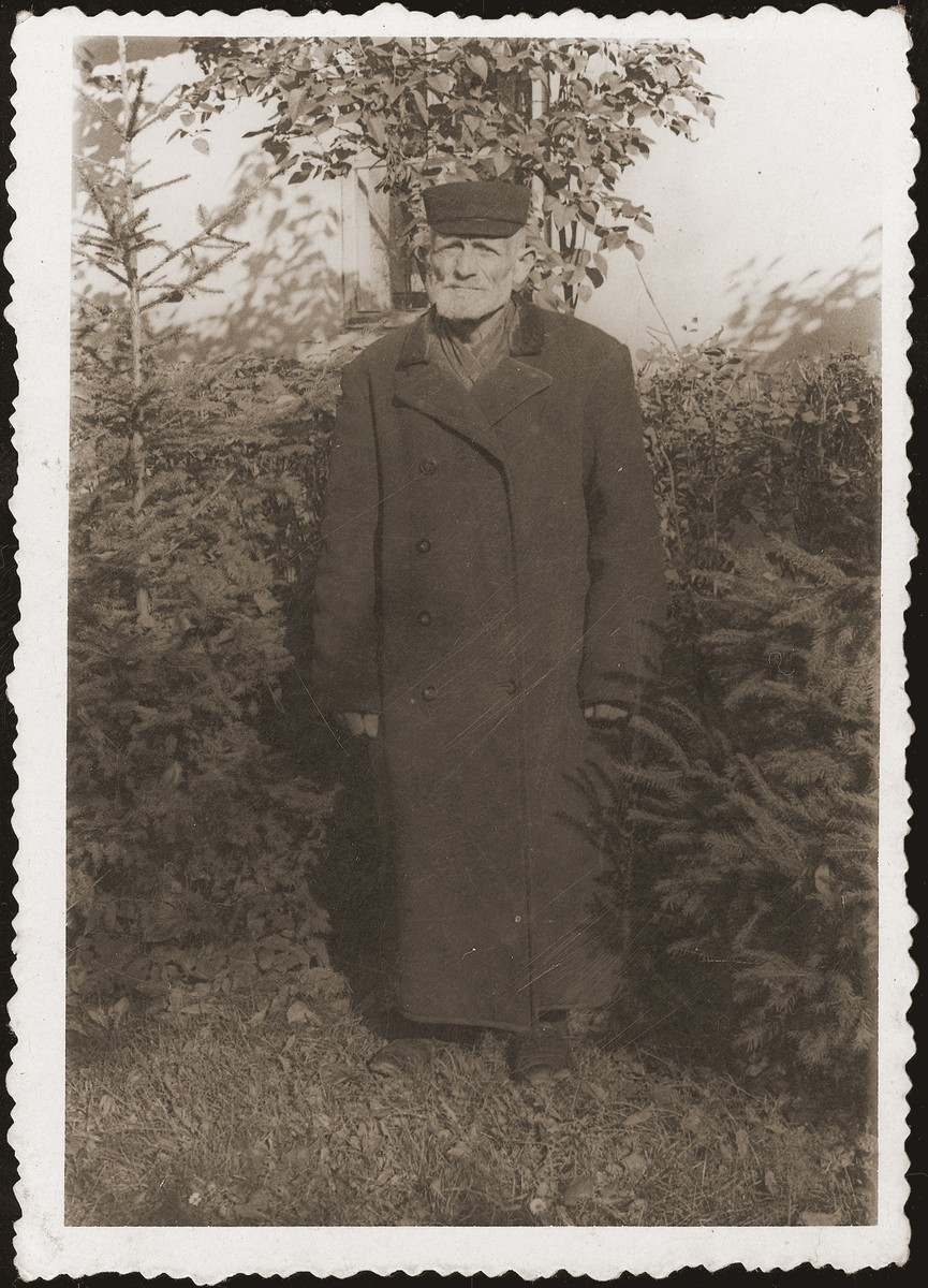 Portrait of Abraham Jakubowicz, donor's father.