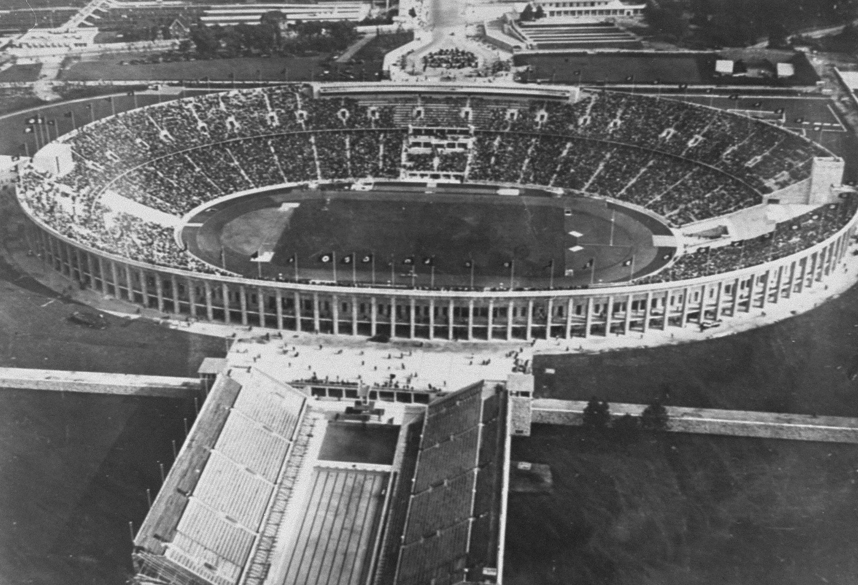 The Olympic stadium in Berlin.