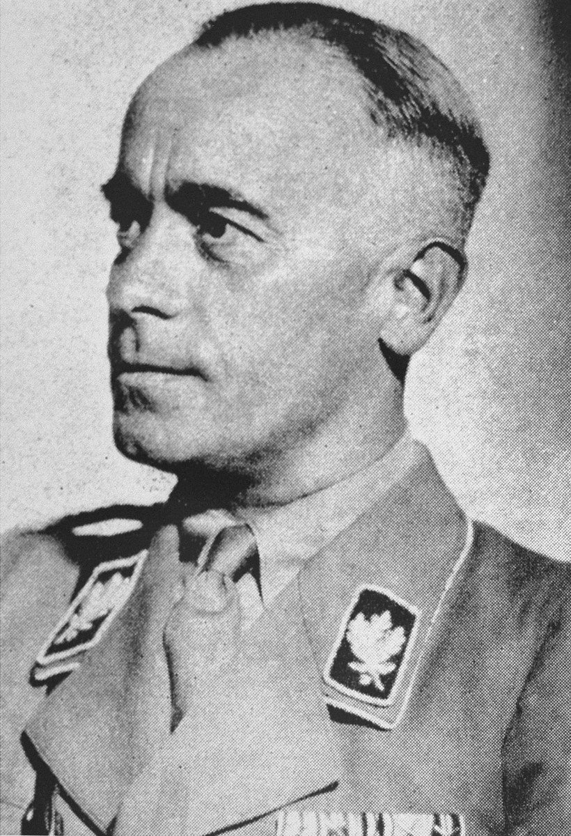 Portrait of Hans von Tschammer und Osten, Reich sports leader and president of the German Olympic Committee.