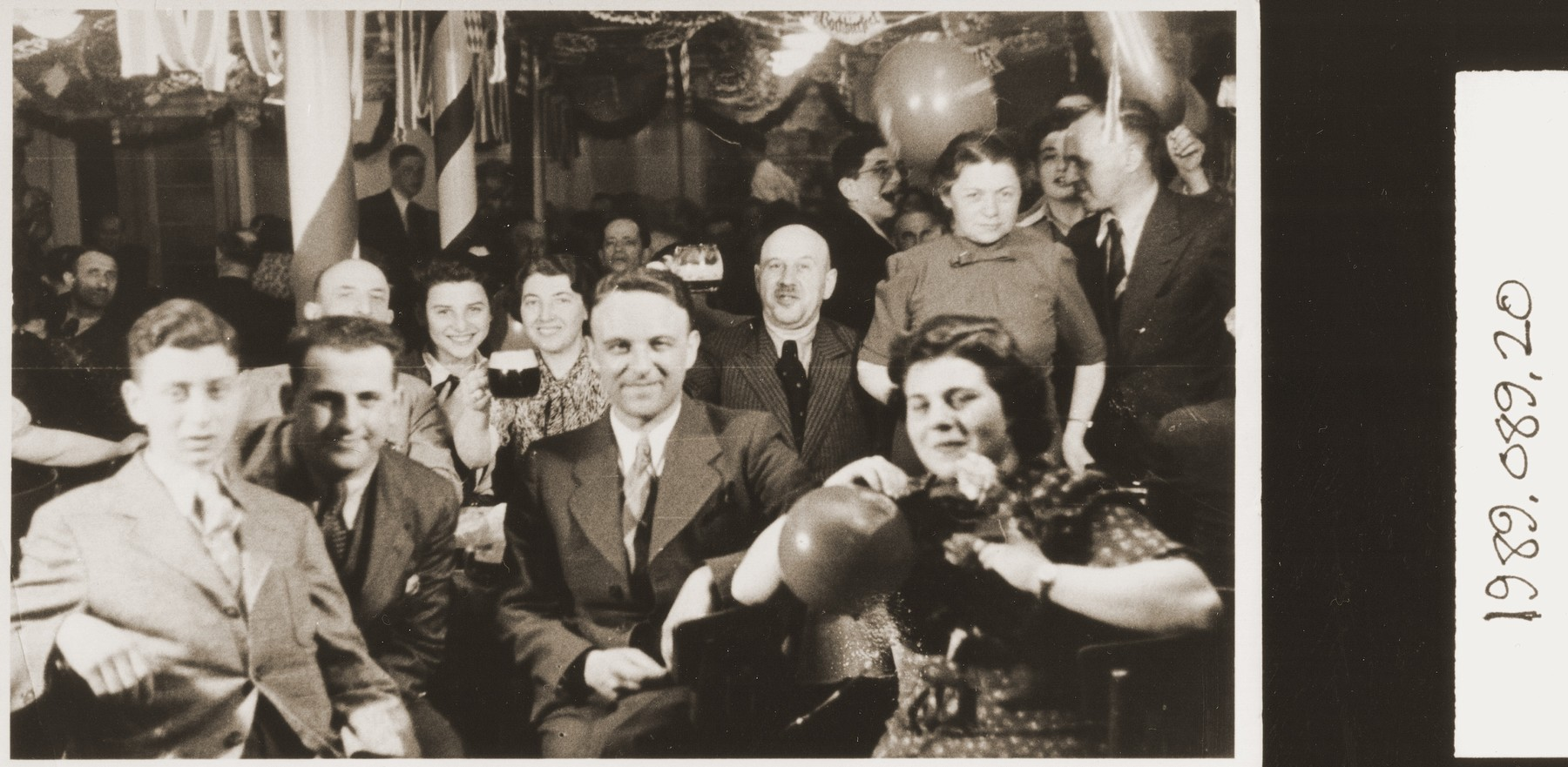 A party on board the SS St. Louis.