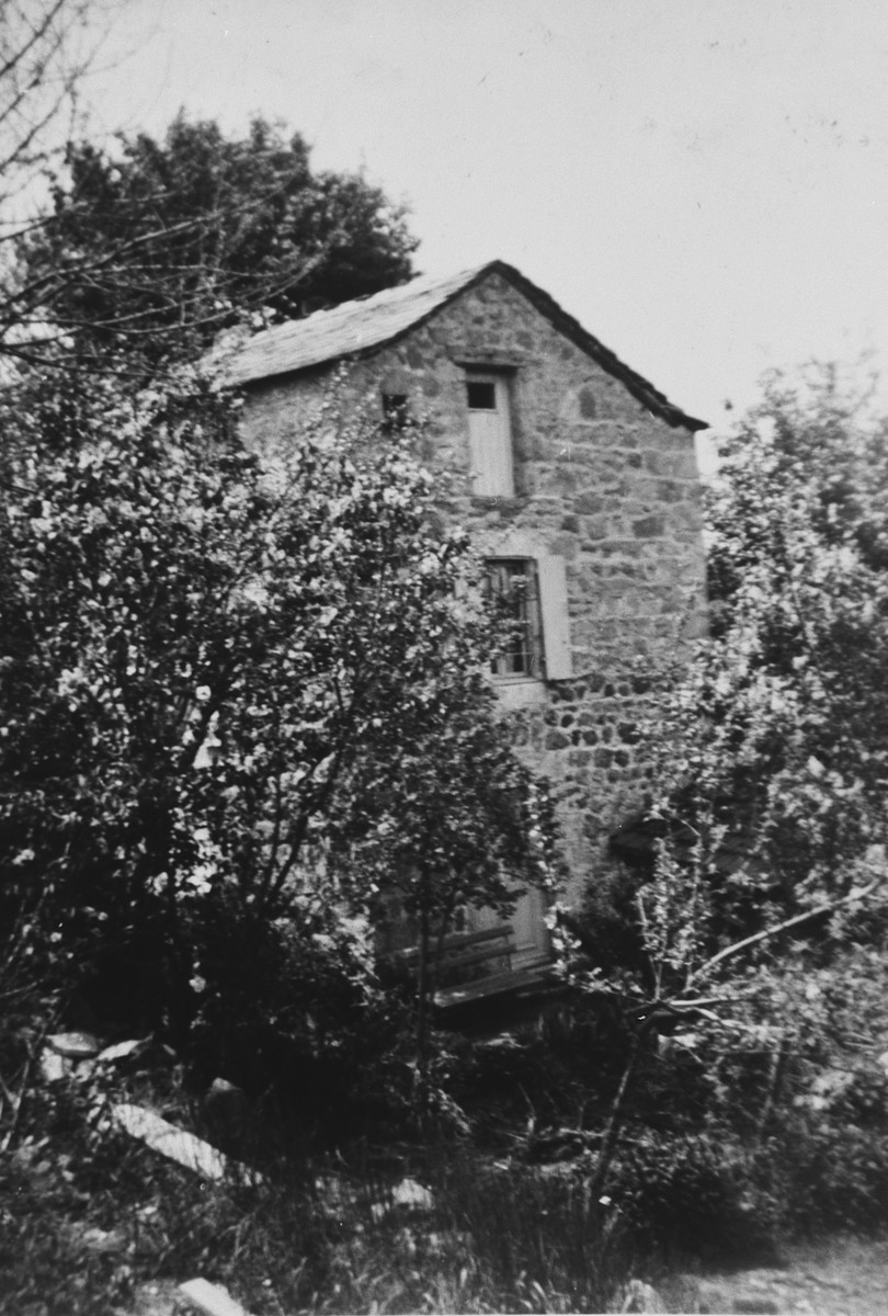 View of a home in Tence, next to Le-Chambon sur Lignon.  Lore Rothheimer lived there while working as an au paire for the Trocme family.