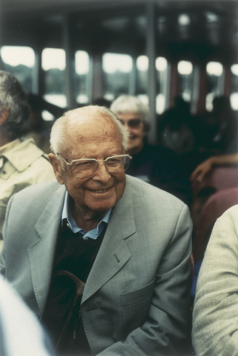 Gerhart Riegner at his 90th birthday