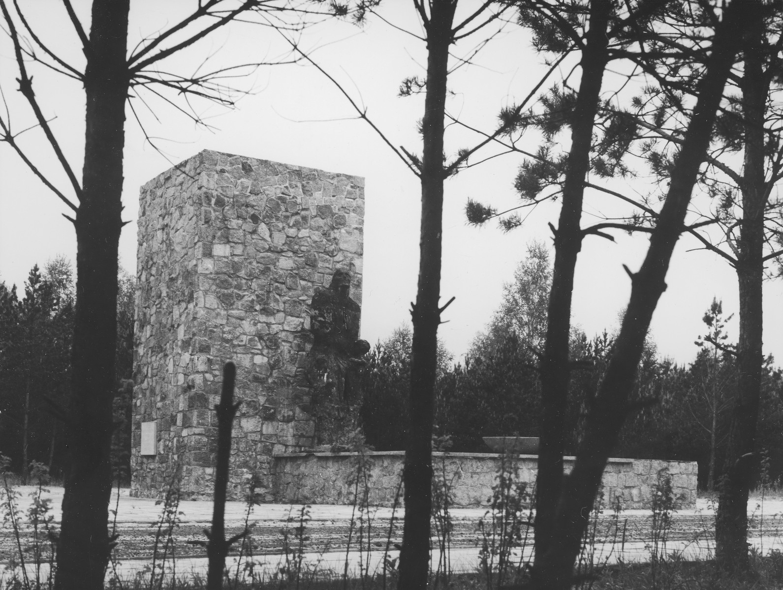Memorial at the Sobibor concentration camp.