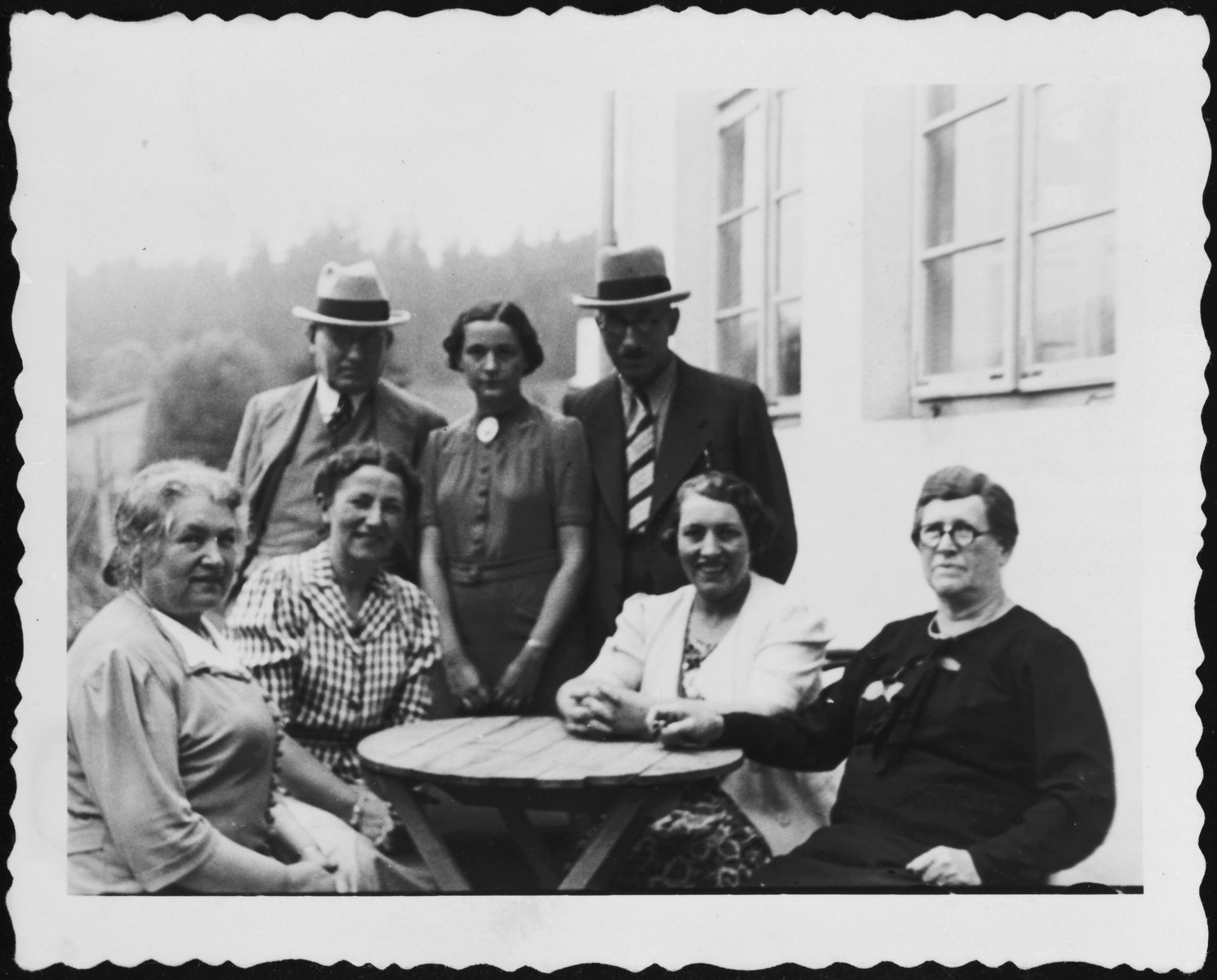 Family Vacation.  Pictured are family members of Rita Blumstein.