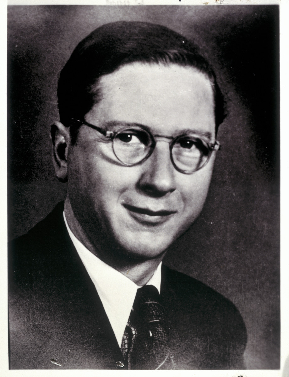 Portrait of Dr. George Renno, a staff member at the Hartheim facility.