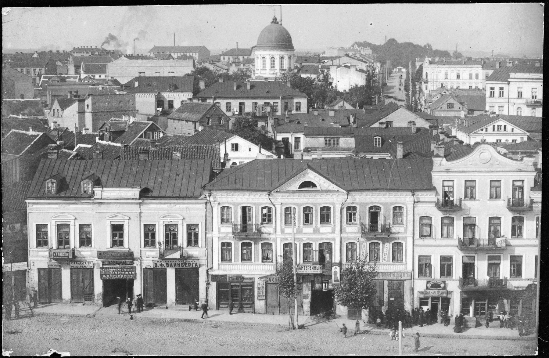 View of prewar Bialystok.