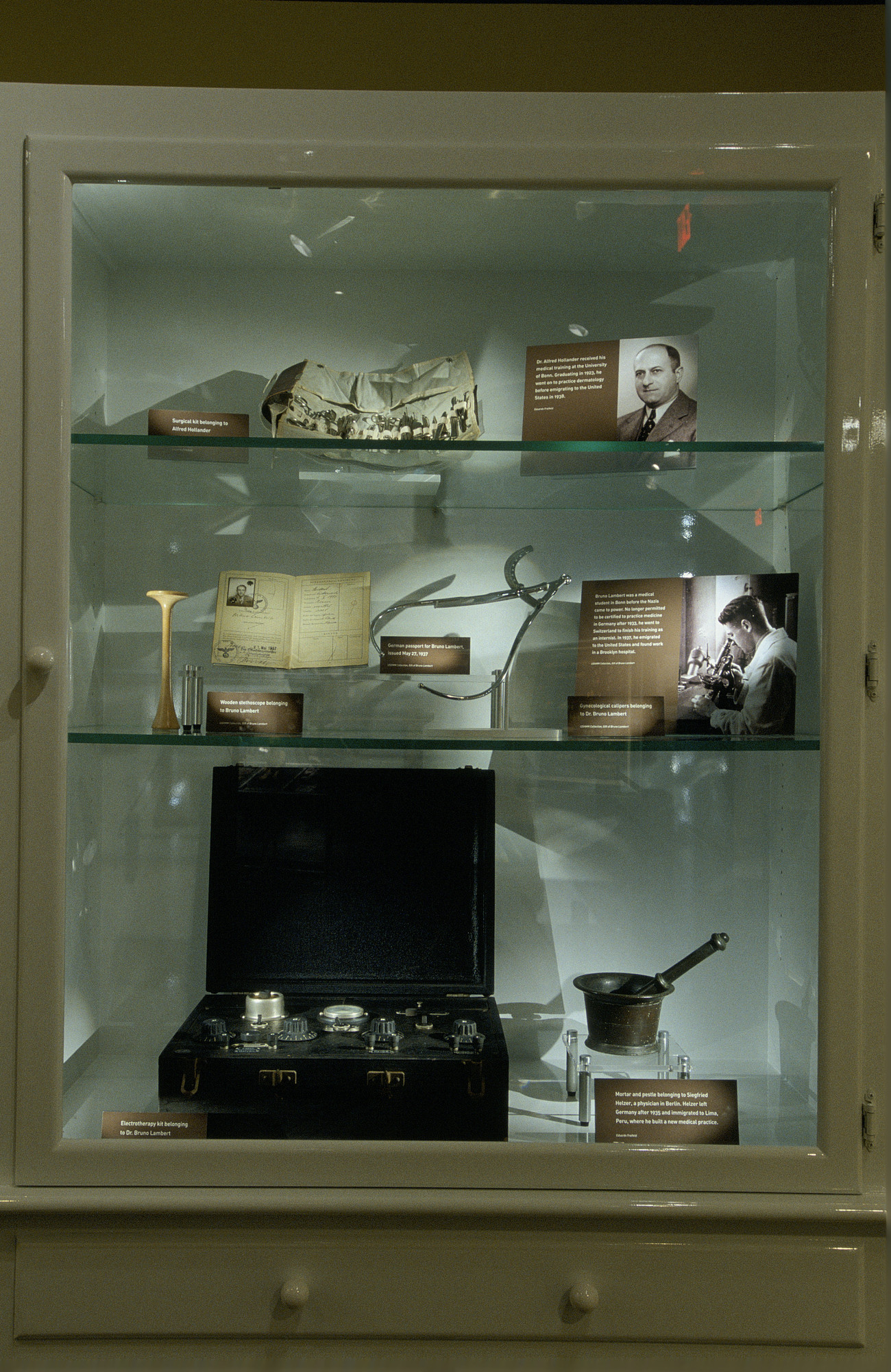 "One segment from the special exhibition, ""Deadly Medicine: Creating the Master Race,"" U.S. Holocaust Memorial Museum, which opened on April 22, 2004."