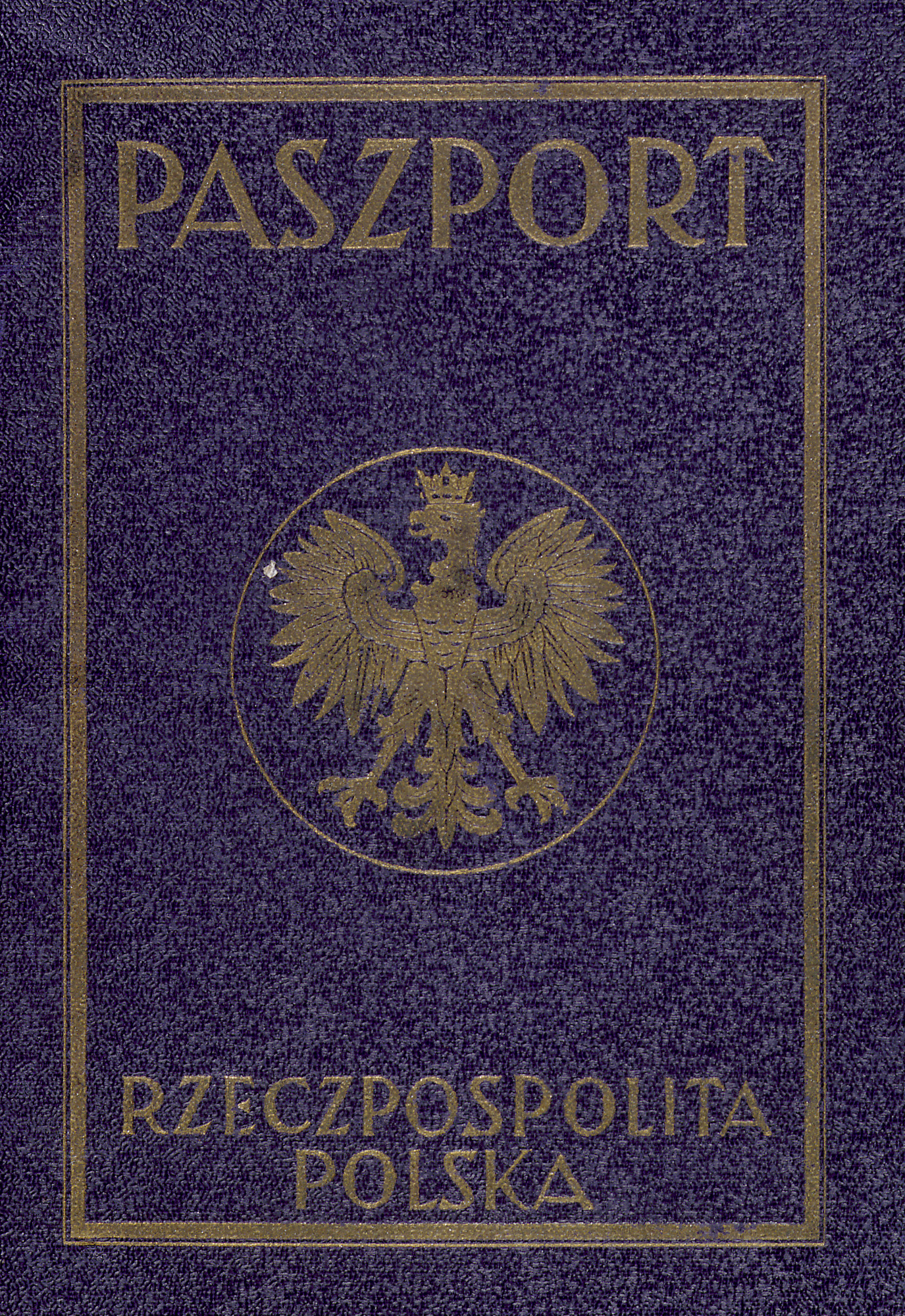Polish Passport with a Japanese visa  - Collections Search - United