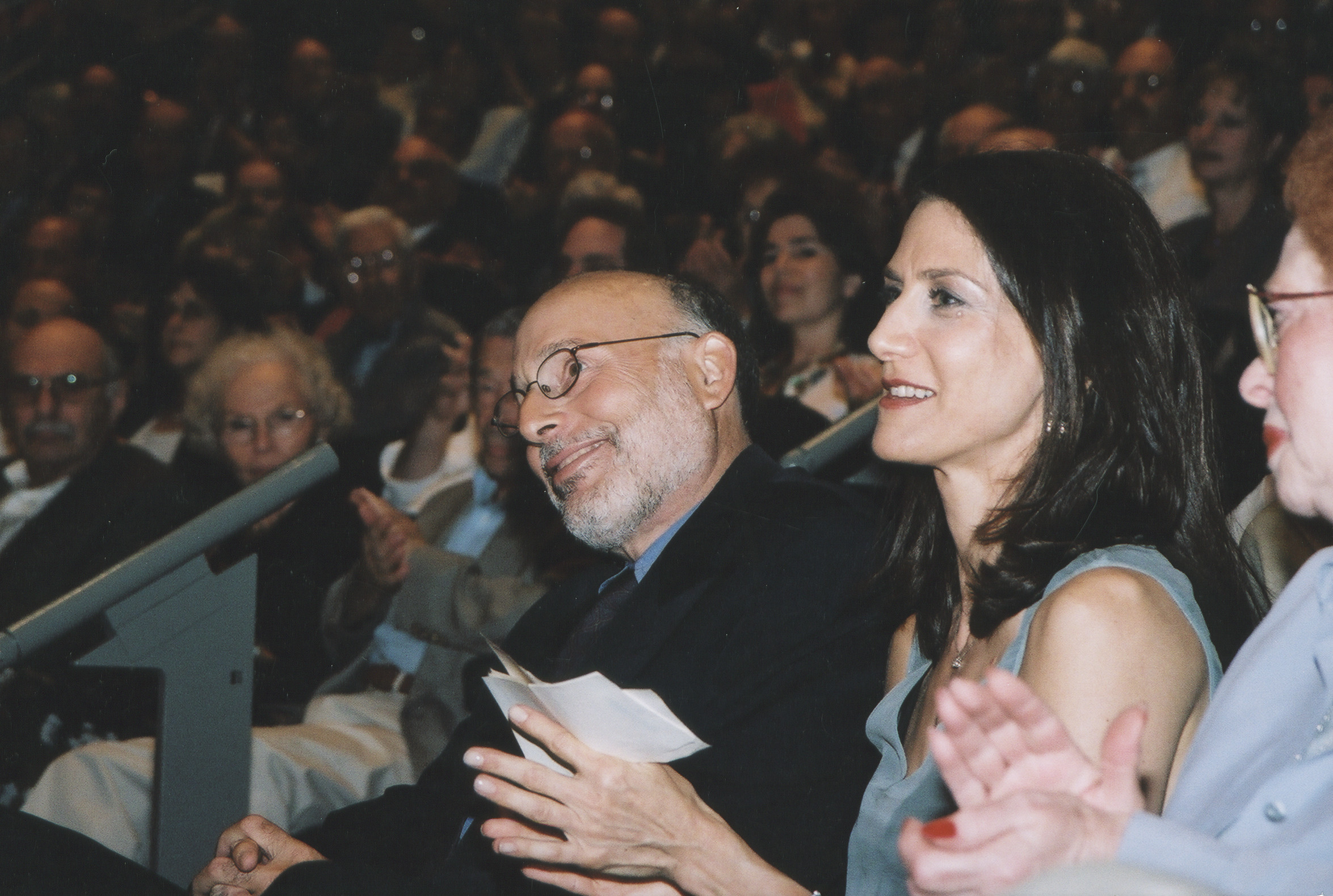 "Filmmaker Deborah Oppenheimer at the premiere of ""Into the Arms of Strangers: Stories of the Kindertransport,"" a film produced with the cooperation of the U.S. Holocaust Memorial Museum."