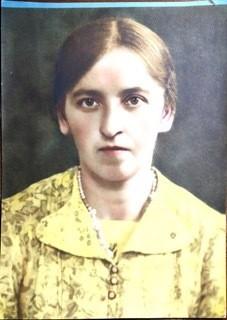 Portrait of Katrina Horniak (nee Tatjana Melnik).